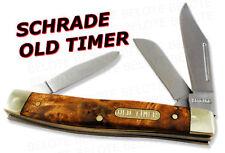 Schrade Old Timer Senior 3-Blade Knife Ironwood 8OTW