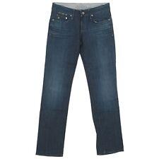20404 G-STAR Damen Jeans Hose FRONTIER Straight Stretch darkblue blau