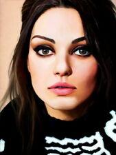 Mila Kunis Portrait Painting Actress HUGE GIANT PRINT POSTER