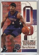 2001-02 Fleer Ultra '02 Good Game-Worn Uniform Memorabilia #MOPE Morris Peterson