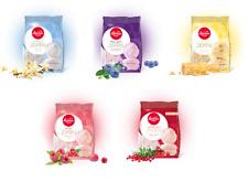 Laima Zephyr Marshmallow Vanilla Blueberry Cream Raspberry Cranberry Зефир Zefir