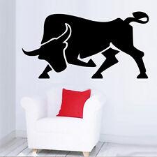 Sticker décoration maison / Voiture Animaux Taureau, 10x19cm à 30x57cm (TAU005)