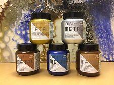 Pigmento metálico Resi-Metal 100g, para crear arte Resina simplemente agregar a Resina Transparente