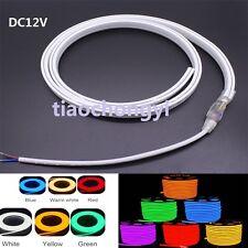 120leds/m RGB SMD 2835 5050 Flex soft led neon rope strip bar light DC12V