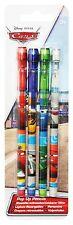 Disney Pixar Cars Mcqueen 4pk pop up pencils Rubber Top School Stationary