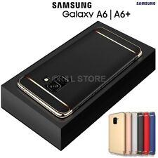 COVER per Samsung Galaxy A6 / A6 Plus 2018 CUSTODIA PROTEZIONE 360° RIGIDA Slim