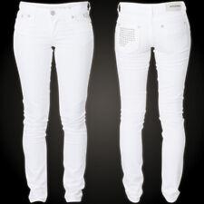 Affliction Jeans Femmes Raquel Tara White Affliction Raquel Tara White