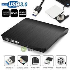 External USB 3.0 DVD R CD Writer Slim Drive Burner Reader Player For PC Laptop