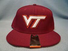 Nike Virginia Tech Hokies True Vapor Fitted BRAND NEW hat cap VT Va dri fit 891be3a341ea