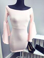 ASOS Scuba Drama Sleeve Mini Bardot Dress (AS-9/13)