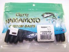 Gary Yamamoto Custom Baits Super Grub or Single Tail Variations Made in USA
