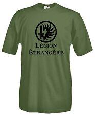 T-shirt Legion Etrangere J822 Maglietta Legione Straniera Maglia Stemma