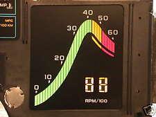 1984 84 CORVETTE DIGITAL DASH INSTRUMENT CLUSTER TACHOMETER TACH LCD LED NEW!
