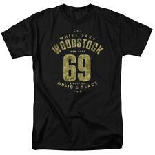 Woodstock White Lake 69 Licensed Adult T Shirt