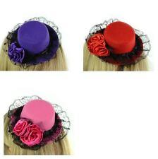 Poizen Industries Lisa Hat Ladies Black Pink Purple Red Goth Emo Punk Girls