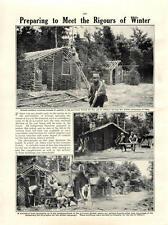 1915 Scout tedesca a Pigeon CASA lorraien FOREST acacia Australiana Capanne
