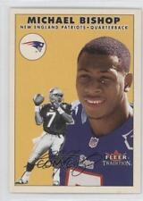 2000 Fleer Tradition #19 Michael Bishop New England Patriots Football Card