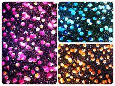 Paint Drop Splatter Pattern Foil on Stretch Knit Jersey Polyester Spandex Fabric