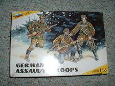 Zvezda 1/35 Ww2 German Assault Troops
