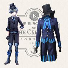 Black Butler Kuroshitsuji Ciel Phantomhive Book of the Atlantic Cosplay Costume
