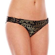 Ninety-Six Degrees Desert Star Foiled Hipster Swim Bottom Size S, M, L, XL