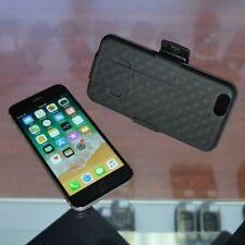 Slim Protective Black Hard Case w/ Belt Clip & Kickstand for iPhone 7 / 7 Plus