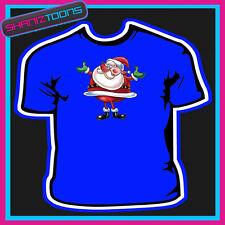 Santa Claus Papa Noel Camiseta Para Niños Para Hombre & señoras tamaño
