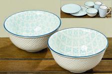 2 x Teller, Becher oder Schale Tea Porzellan Tasse Müslischale  Dessertteller