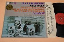 LUCIANO BERIO LP AVANT GARDE CONTEMPORARY EXPERIMENTAL 1°ST ORIG NM !!