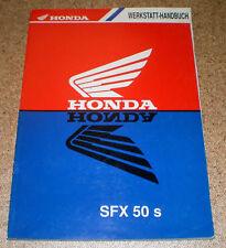 Werkstatthandbuch Honda SFX 50