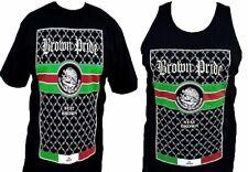 Mens Brown Pride T-Shirt Or Tank Top Chicano Latin Pride