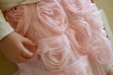 NWT GAP Heart Rosette Rose Soft Tulle Skirt Tutu Lined Pink Toddler Girls 2T 3T