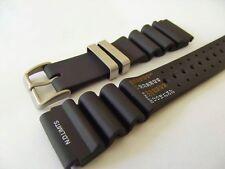 cinturino x citizen acqualand N.D. limits pvc di qualità 24 mm passanti satinati