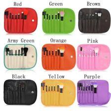 Brush Set of 7 Makeup Blush Eyeshadow Lip Brush Travel Cosmetic Make up Set Kit