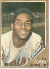 1962 Topps Vic Power Twins  NR MT  # 43