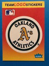 1984 Fleer Stickers Inserts Major League Team Logos