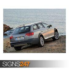 AUDI A6 ALLROAD 4.2 QUATTRO (AC670) CAR POSTER - Poster Print Art A0 A1 A2 A3