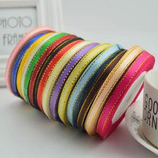 25 Yards Silk Satin Ribbon DIY Handmade Craft Wedding Party Decor Gift Wrapping