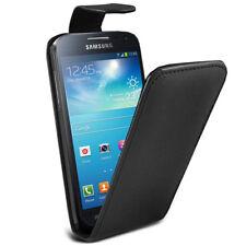 For Samsung Galaxy S4 Mini i9190 i9195 black Flip Leather Case Cover + Screen