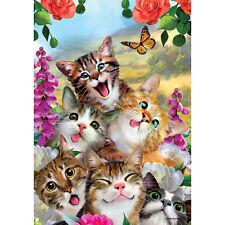 Cat Selfie Decorative Flag