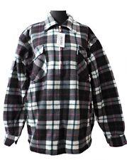 Chaqueta De Leñador Camisa térmica Negro/ROJO CUADROS m-3xl