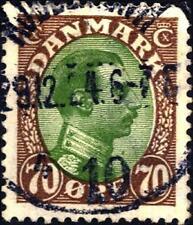 DANIMARCA - 1918/20 - Cristiano X