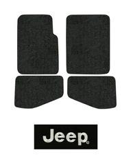 2004-2006 Jeep Wrangler Unlimited Floor Mats - TJ - 4pc - Cutpile