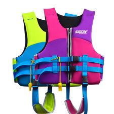 Kids Lifesaving Vest Buoyancy Aid Sailing Kayak Life Jacket Drifting Swim Kayak