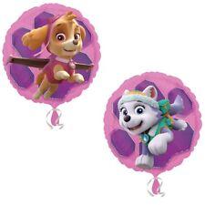 Pat'PATROUILLE rose pour filles Skye Everest 45.7cm Film Ballon en aluminium