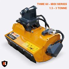 Hardlife Hydraulic Flail Mower - 1.5-3 Tonne THME Midi Series