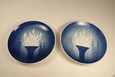 Copenhagen Porcelain Olympic Games Plates 1972 1976 L#633