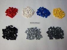 Lego Lot 1 x 1 Round Plate Dots Cylinders Cones 1 x 2 Plates U Pick Color 55 Pcs
