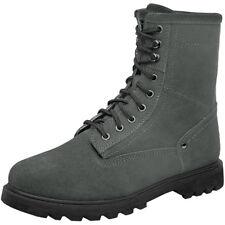 Brandit Gladstone Heren Leren Vintage Laarzen Warm Wandelschoenen Anthracite