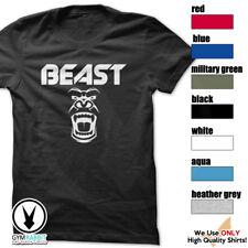 BEAST Gorilla Mode Shirt Workout Gym BodyBuilding Weight Lifting MMA c93 Art-3